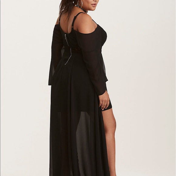 f6ab262a852 Gorgeous black long maxi dress from torrid